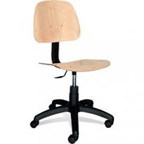 Dílenska  (průmyslová) židle otočná