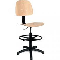 Dílenská (průmyslová) židle vysoká