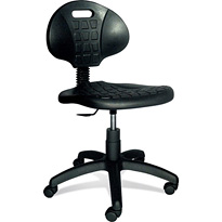 Pracovní (dílenská, průmyslová) židle Polyuretanová  TECNO -Záruka 4 roky