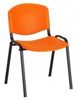 Konferenčná stolička IMPERIA plast (čierny rám)