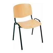 Konferenčná stolička IMPERIA buk (černy rám)