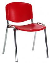 Konferenčná stolička TAURUS PN ISO (chrómový rám)