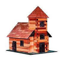 Fotogalerie: Drevená zlepovacia stavebnica – Kostol