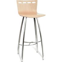 Barová stolička VALERIE BAR (RAL 9000 - strieborná)
