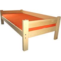 Jednolôžková posteľ NEW SENDYso zábranou