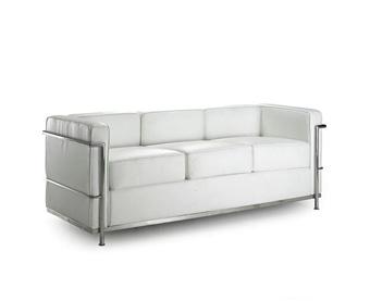 Kreslo Bauhaus biele - 3 miesta