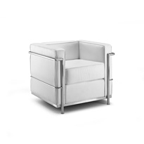 Křeslo Bauhaus  bílá