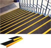 Protismykové GRP schodištové nášlapy