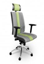 Kancelářská židle AIR SEATING - celočalouněná