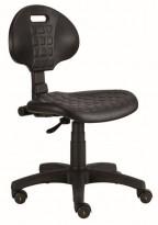 Pracovná antistatická ESD (dielenská, priemyslová) stolička Polyuretanová TECNO PIER